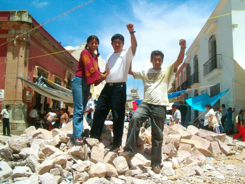 Barricada a Oaxaca