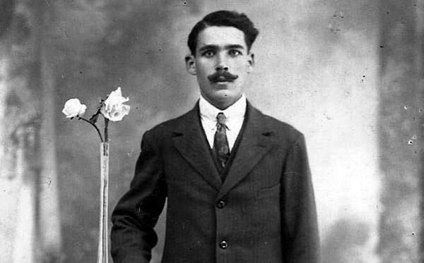 Francisco Afonso García poc abans de l'esclat de la guerra civil