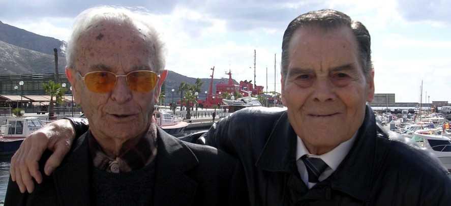 Juan Alcaraz Saura (dreta) i Cayetano Zaplana Zapata