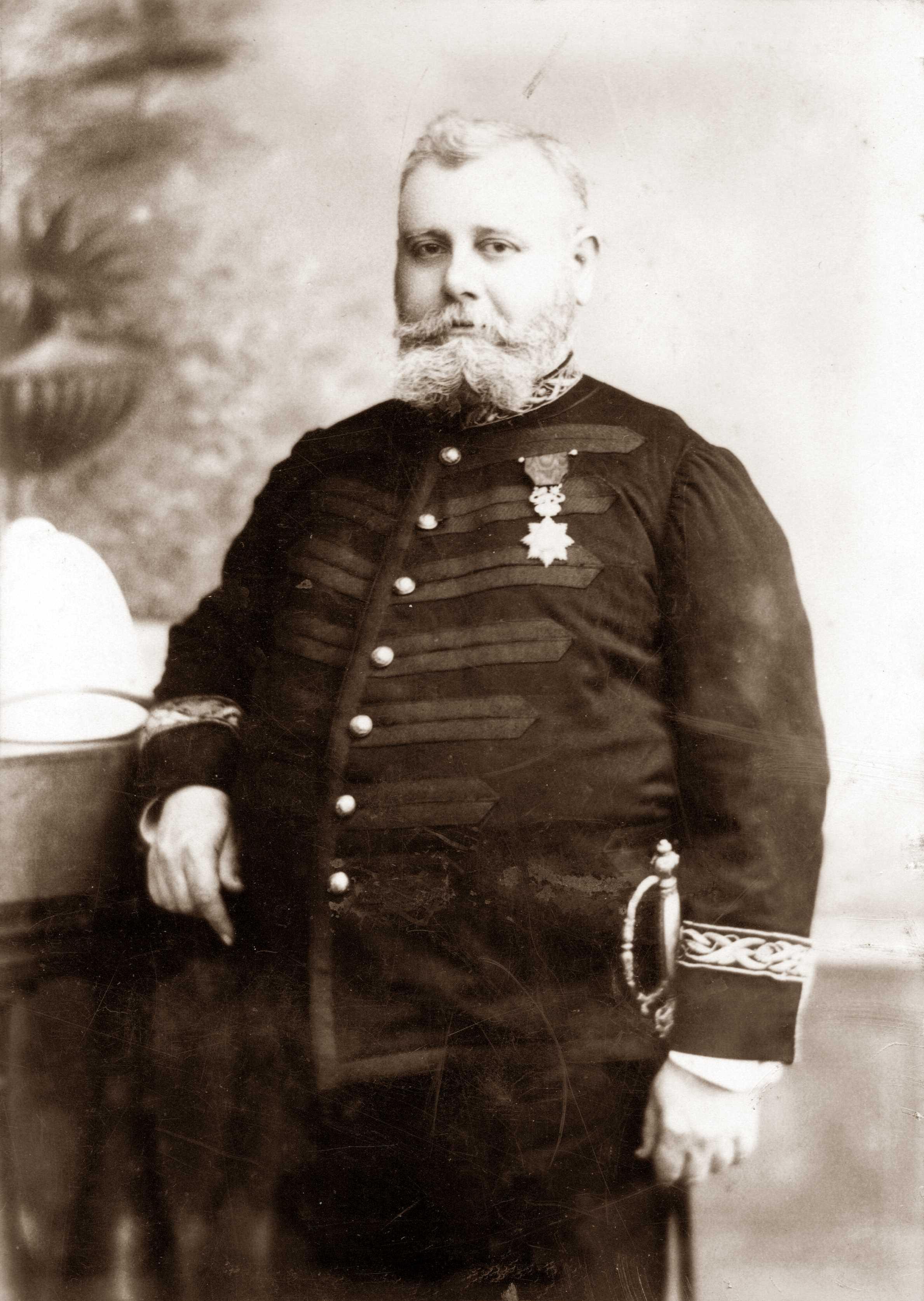 Charles Alerini fotografiat per L. Alessi a Bastia entre 1893 i 1894