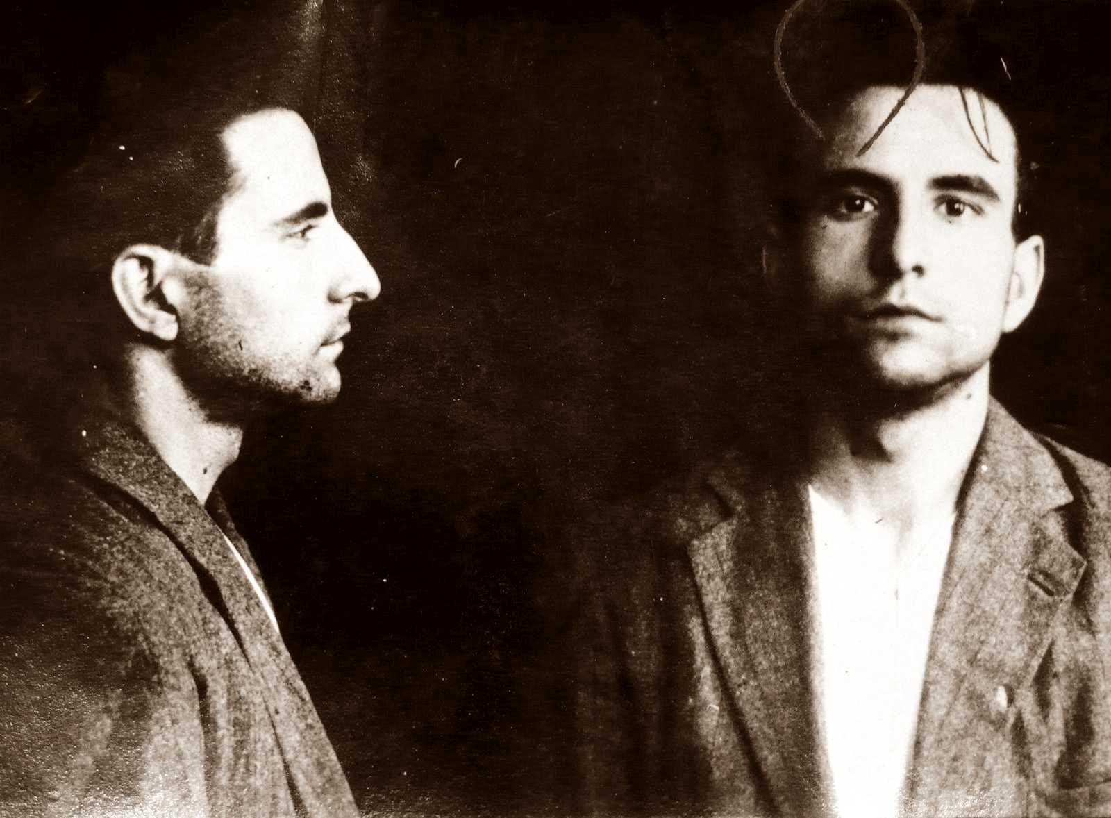 Foto policíaca d'Alfons Miguel Martorell (9 d'agost de 1923)