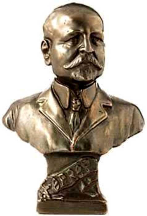 Bust de Ferrer i Guàrdia conservat a l'IISG d'Amsterdam