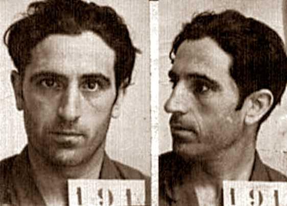 Foto policíaca de Acácio Tomás de Aquino