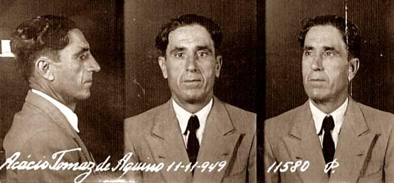 Fitxa antropomètrica d'Aquino (11 de novembre de 1949)