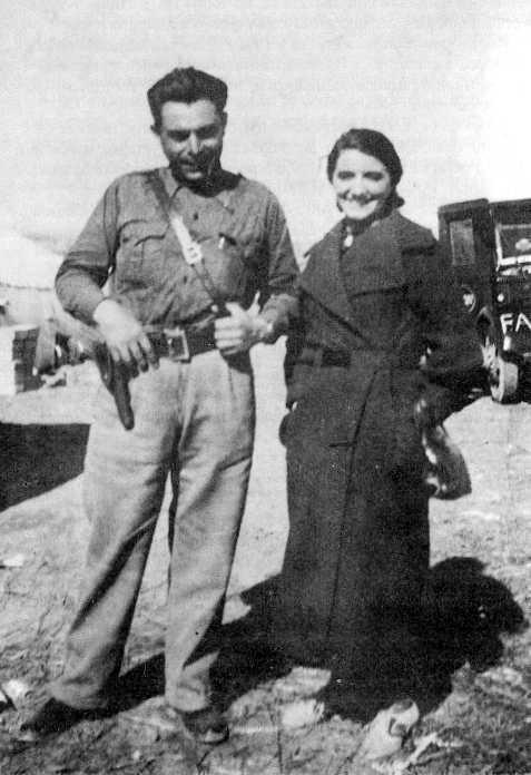 María Ascaso Abadía i Buenaventura Durruti (1936)