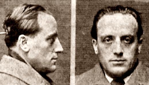 Fitxa policíaca d'Aurelio Fernández Sánchez