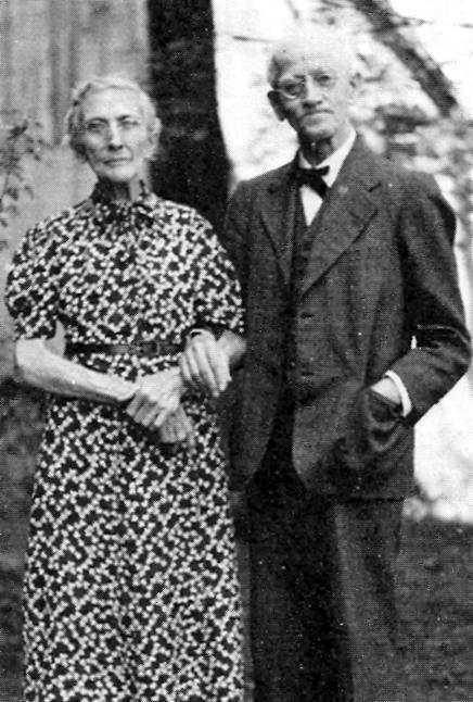 Max Baginski y su compañera Emilie Schumm