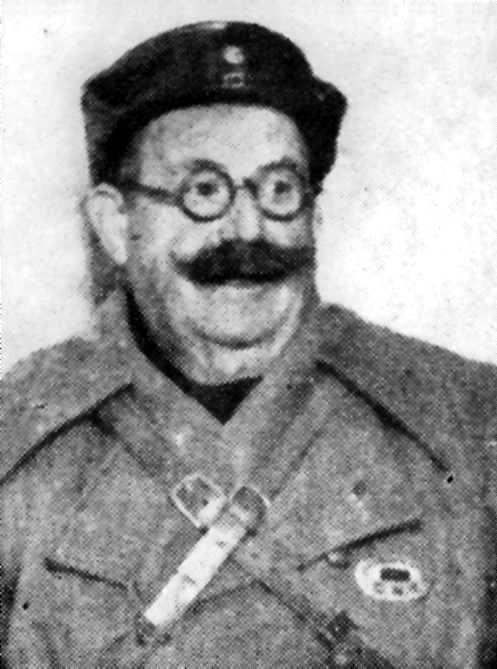 Mauro Bajatierra Morán, periodista de guerra
