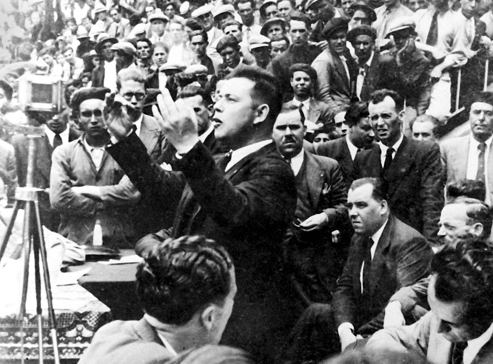 Vicente Ballester Tinoco a la Plaça de Toros de Cadis (24 de maig de 1936)