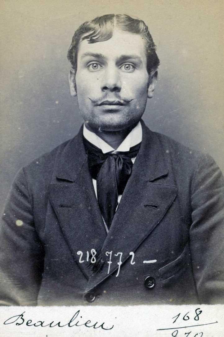 Foto policíaca d'Henri Beylie (25 de maig de 1894)