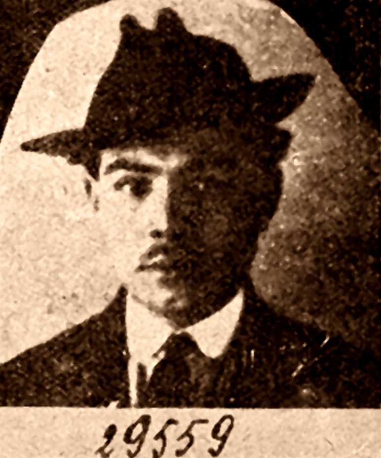 Foto policíaca d'Augusto Bianchini (ca. 1937)