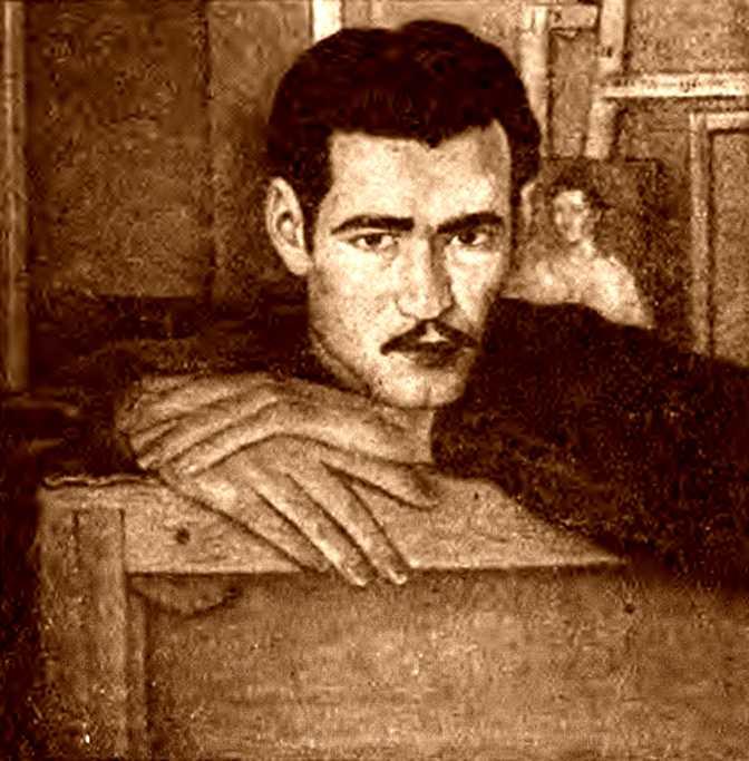 Autoretrat de Joan Borràs Casanova