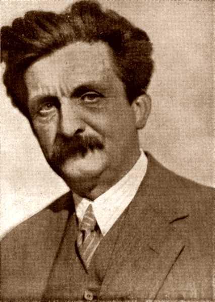 Adolf Brand fotografiat per Jaro von Tucholka a Berlín