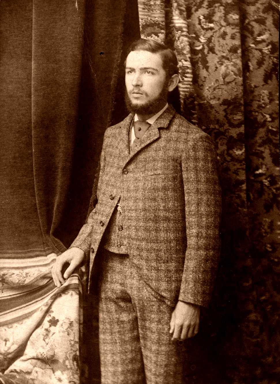 Steven T. Byington fotografiat per Gauvin (Burlington, 1891)