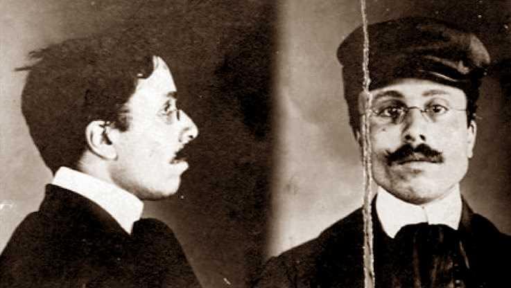 Foto policíaca de Ludovico Caminita (1908)