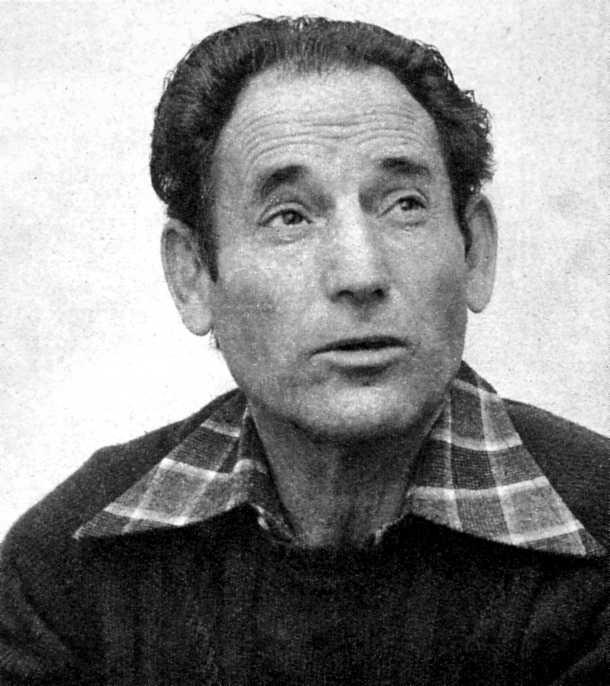 Fernando Carballo Blanco fotografiado por Gustavo Catalán Dioses (enero 1977)