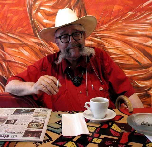 Carlos Cortez fotografiat per Guillermo Delgado