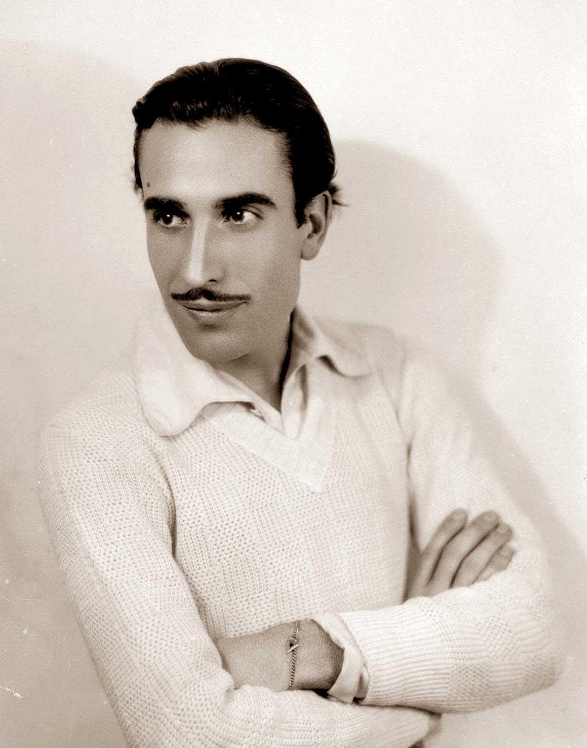 Andrés Carranque de Ríos fotografiat per Lagos a finals dels anys vint