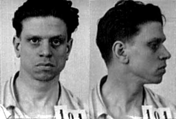 Ficha policial de Mário Castelhano (ca. 1936)