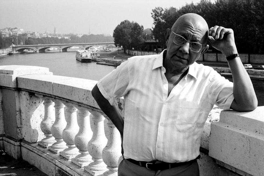 Cornelius Castoriadis fotografiat per Martine Franck a París