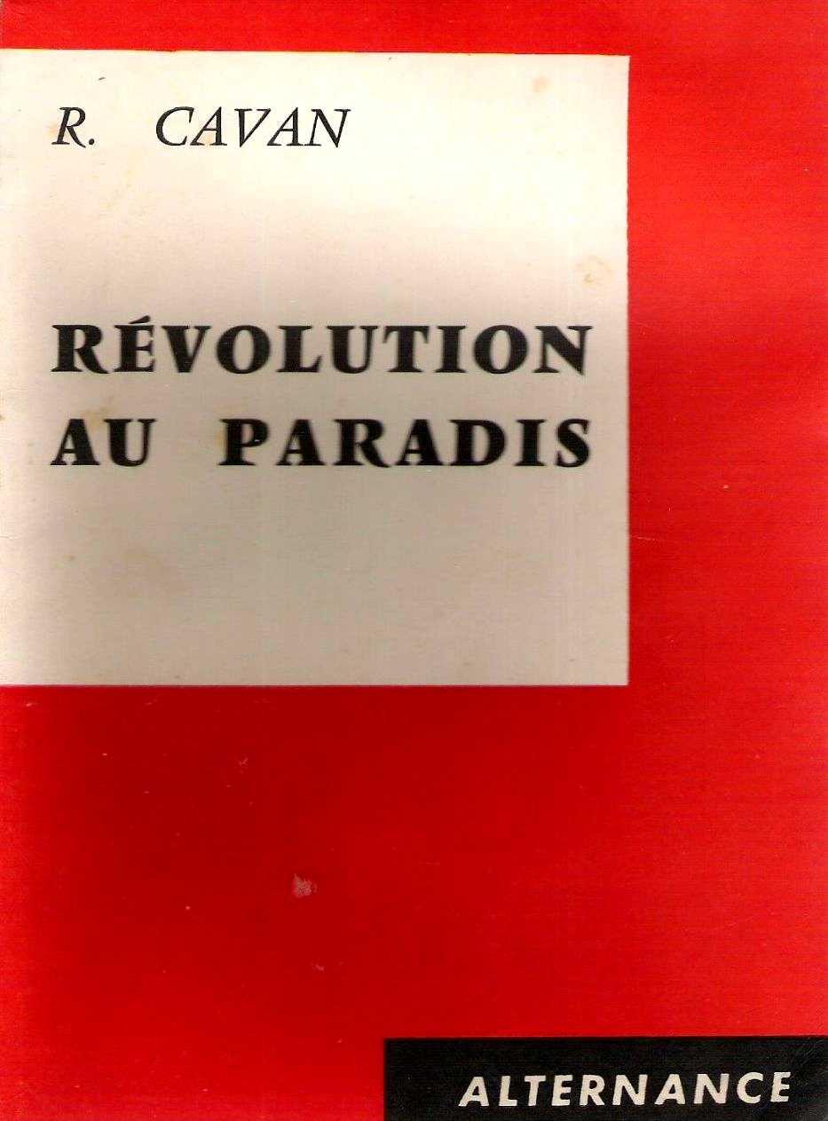 Portada d'un llibre de René Cavanhié