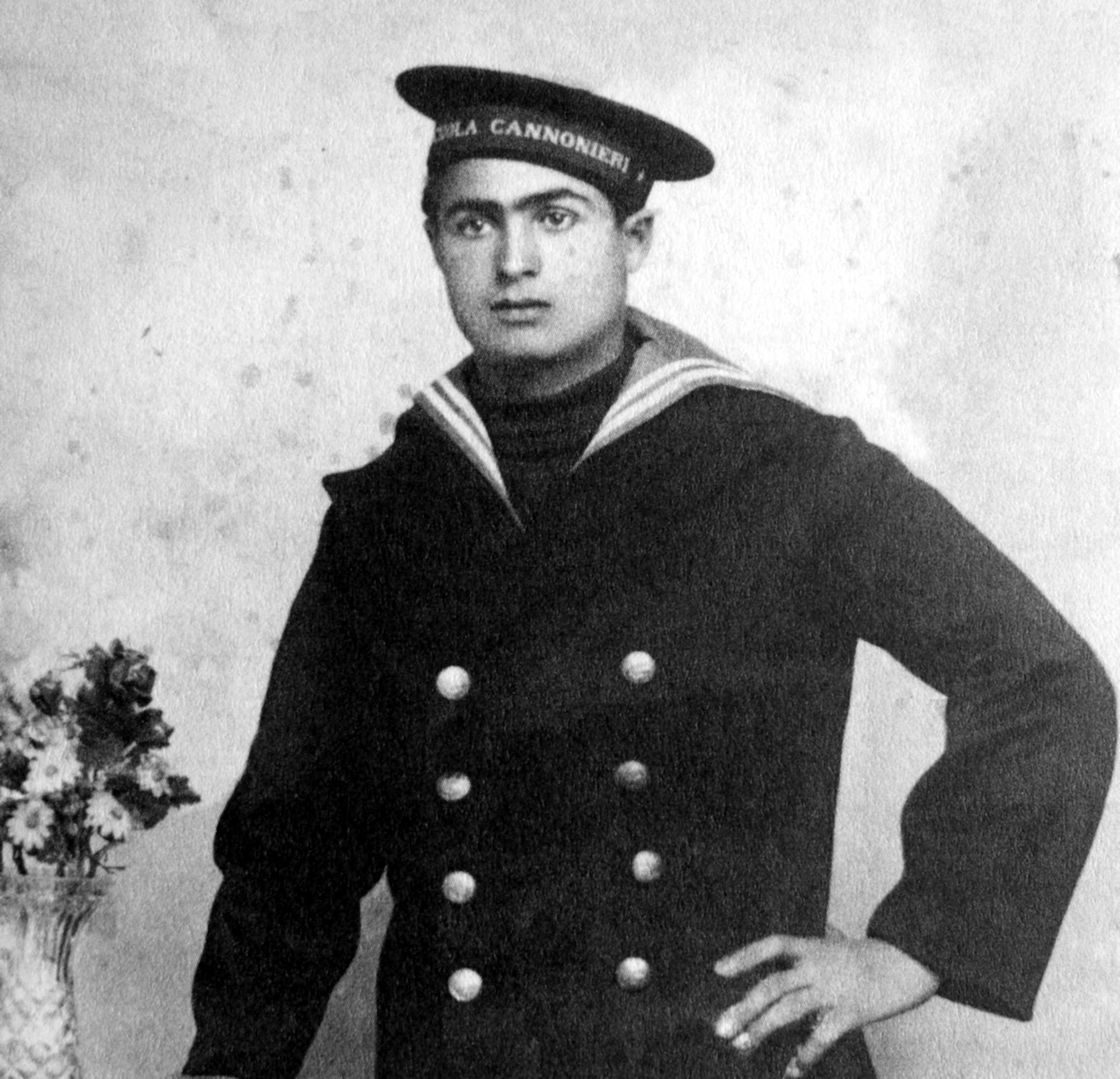 El mariner Aurelio Chessa (ca. 1935)