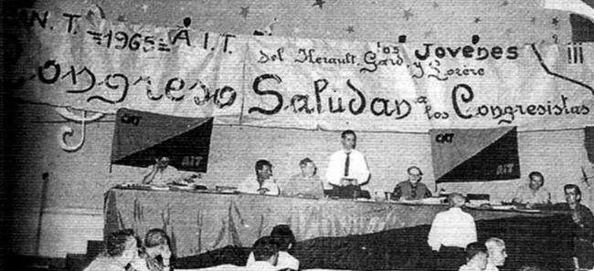 Presidència del Congrés de Montpeller de 1965