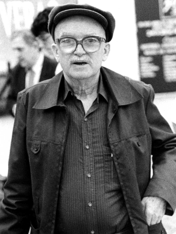 Jaime Cubero en la trobada «Outros 500. Pensamiento Libertario Internacional» (São Paulo, 19-24 d'agost de 1982) [ CIRA-Lausana ]