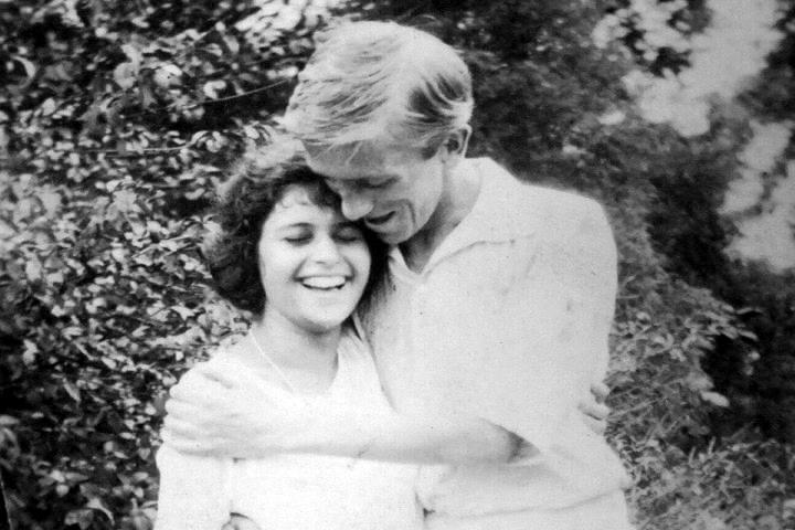 Nellie i Jim Dick a la colònia llibertària d'Stelton (setembre de 1921)