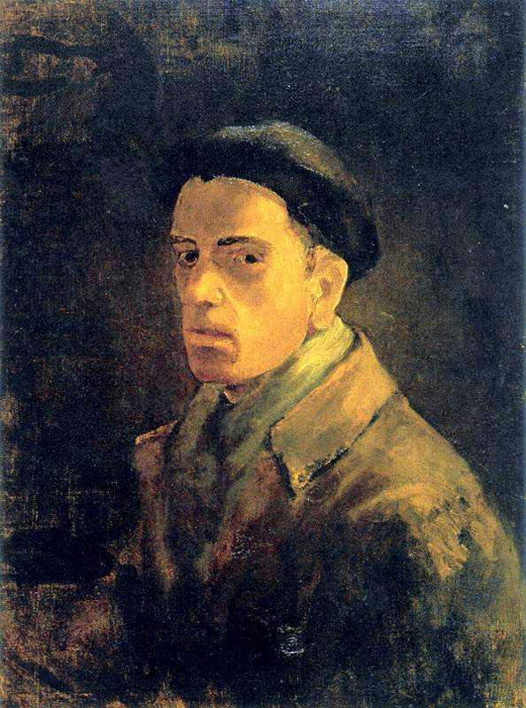 Autoretrat d'Eduardo Vicente Pérez (1946)