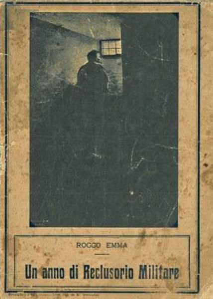 """Portada del llibre """"Un anno di reclusorio militare"""""""
