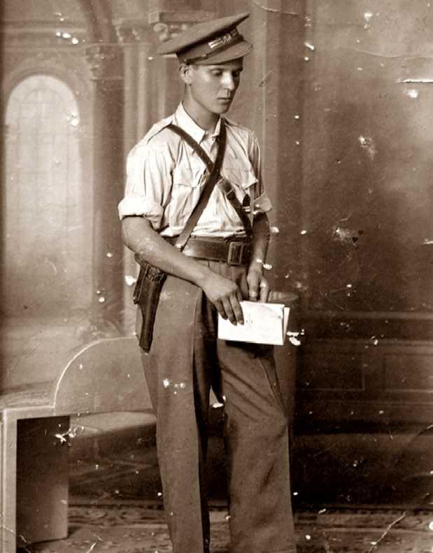 Eduardo Escot Bocanegra, tinent de Transmissions de l'Expercit republicà (Madrid, agost de 1937)