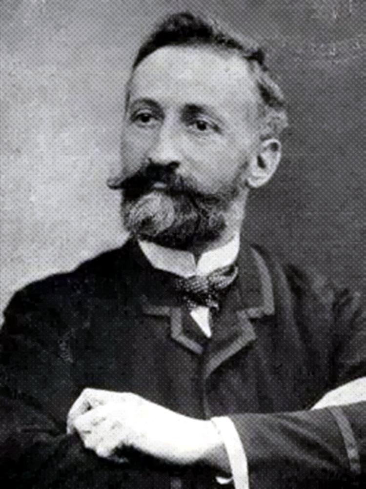 Émile Eudes fotografiat per M. Marius