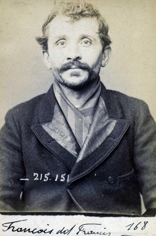 Foto policíaca de Jean-Pierre François (5 de març de 1894)