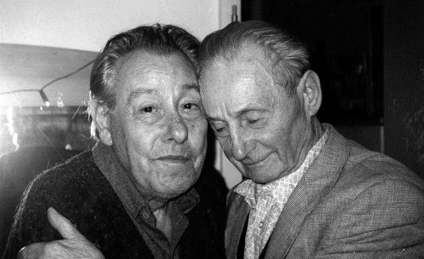 Abel Paz i Heinrich Friedetzky (Colònia, 1994)