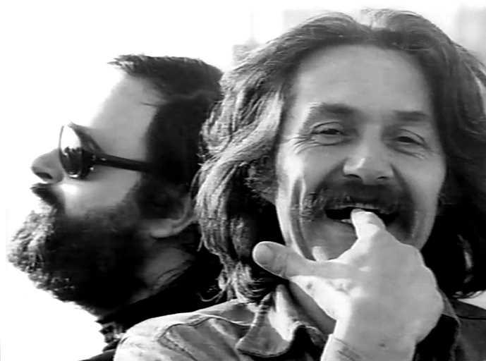 "Maurice Frot (dreta) i Paul Castanier (""Popol"")"