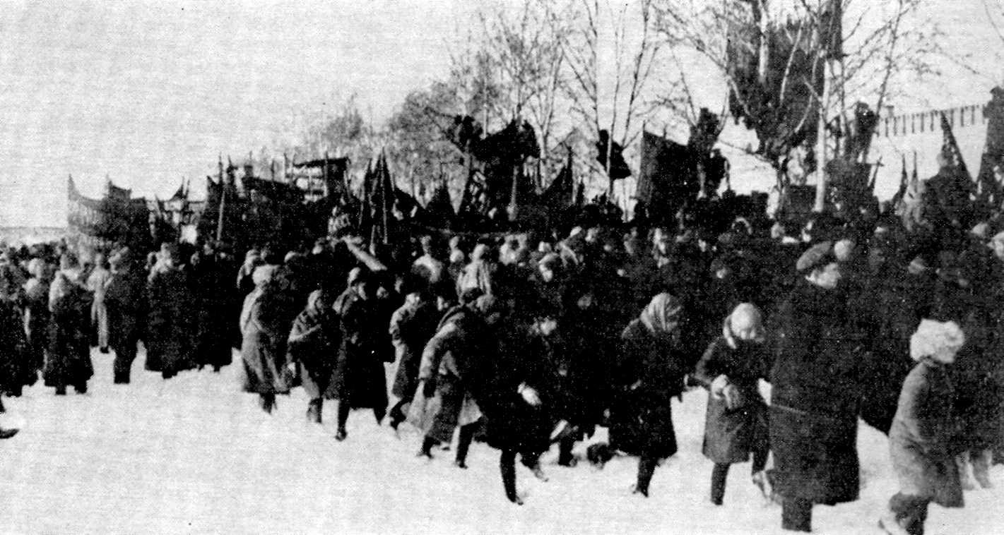 Funeral de Kropotkin
