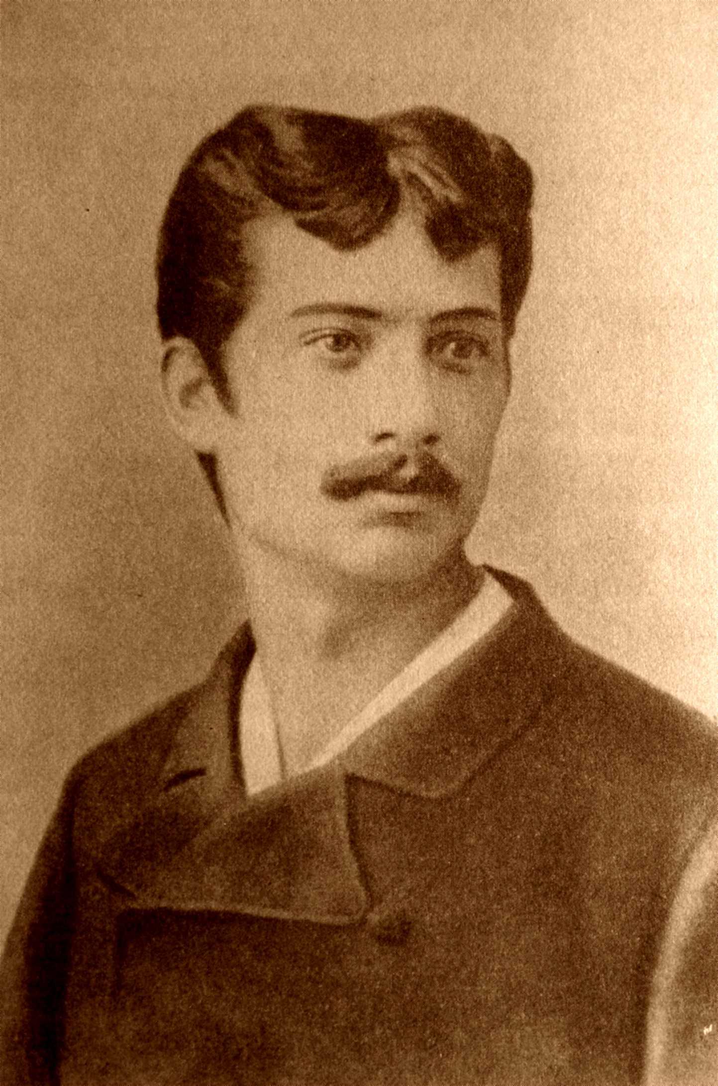 El jove Luigi Galleani