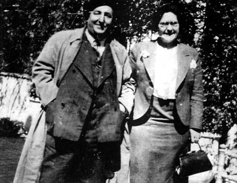 Galo Díez i Frederica Montseny (Jaén, 1937)