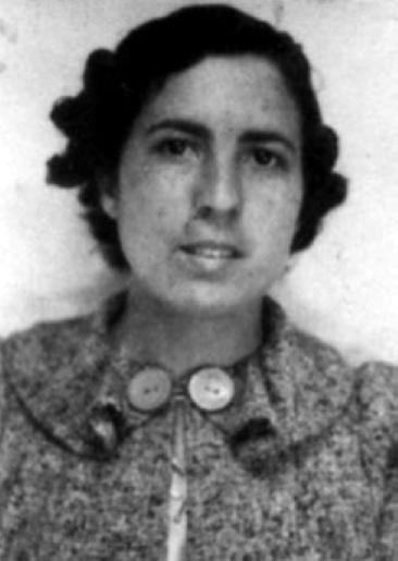 Benigna Galve Escobedo, alumna de l'Internat Escola Durruti