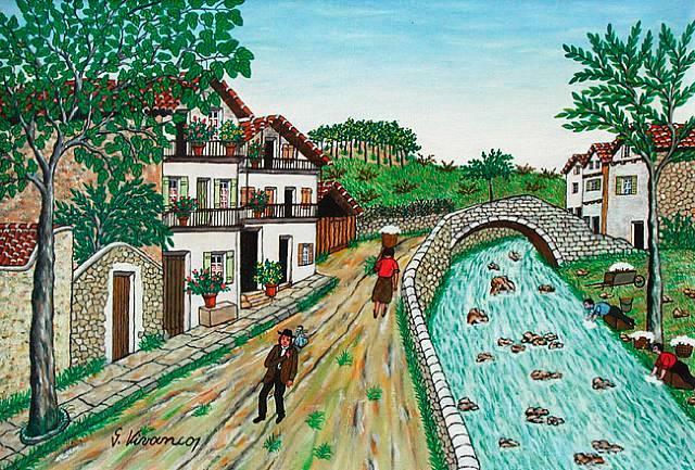 Village basque