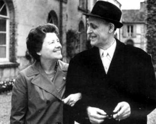 "Jean Gauchon i Rosario Oller Ortí (""Rosarito"")"