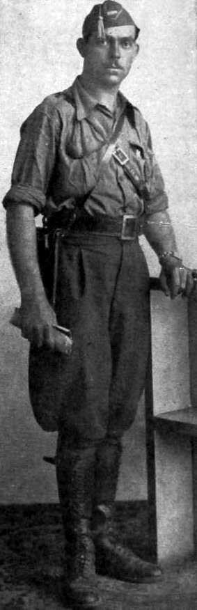 Germà Riera i Condal, comandant de la 28 Divisió de l'Exèrcit republicà