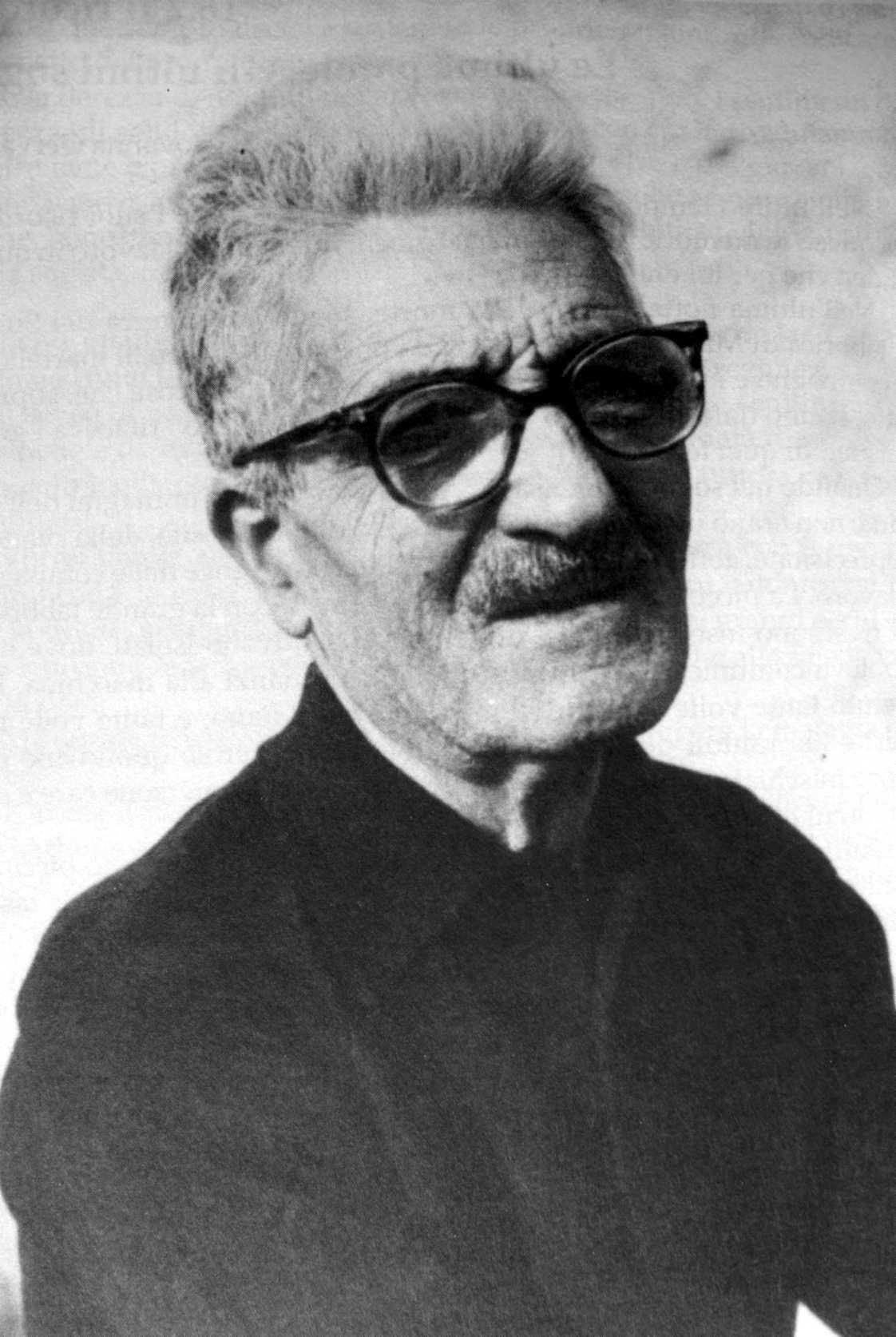 Gaetano Gervasio a casa de Cesare Zaccaria (Capo Misero, setembre de 1964)