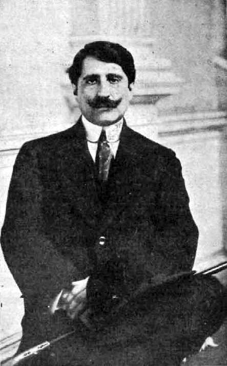 Alberto Ghiraldo a Espanya