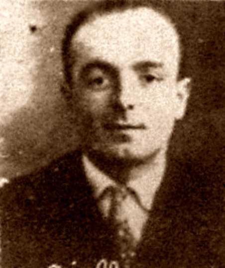 Giuseppe Gialluca en una foto policíaca