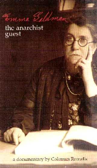 """Portada del vídeo """"Emma Goldman. The Anarchist Guest"""""""