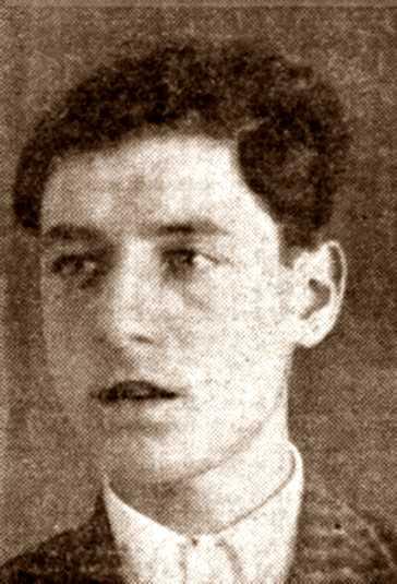 Foto policíaca de Francesc Gomar Torró (1933)