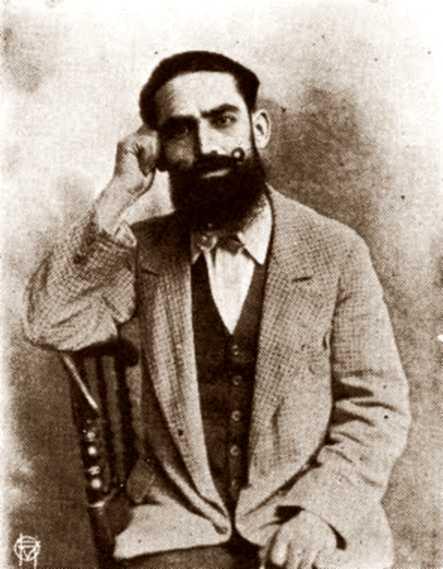 """António Gonçalves Correia en l'època de la fundació de la """"Comuna da Luz"""""""