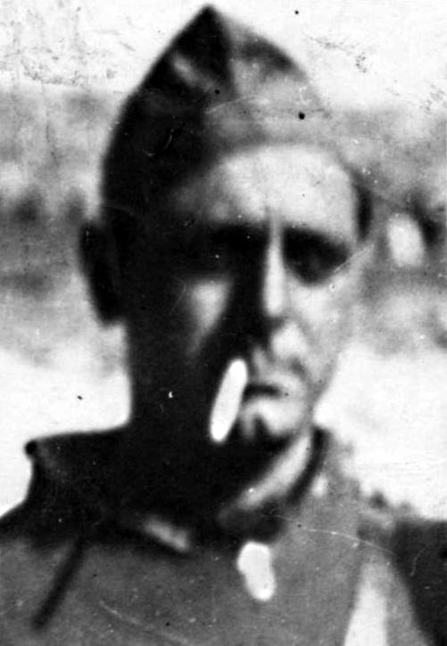 Bruno Gualandi al front d'Osca (1936)
